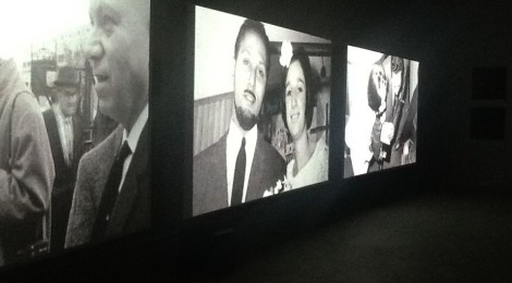 A still of The Unfinished Conversation on now at The Power Plant.